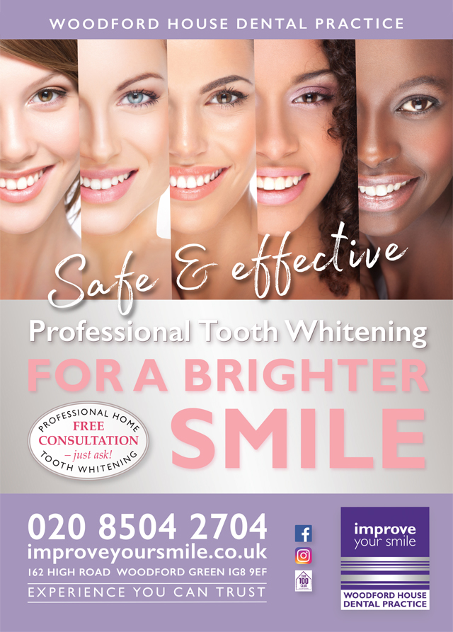 Tooth whitening at Improve Your Smile